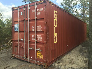 40 X 8 X 9 5 Shipping Container High Cube Cargo Worthy Grade B1