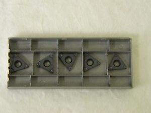 Iscar 16erb 1 00 Iso Ic908 5902802 Carbide Threading Insert Lot Of 5