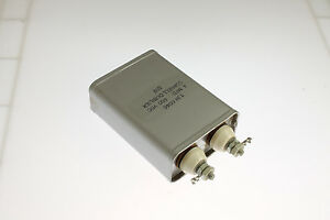 New 4mfd 600vdc Application Oil Hermetically Sealed Capacitor Cde 4uf 600v Dc