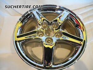Jeep Liberty 16 Factory Oem Wheel Rim Hol 9099 Chrome 2003 Thru 2007