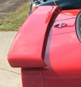 For Chevrolet Corvette C4 Un painted Custom Style Rear Spoiler Wing 1984 1990