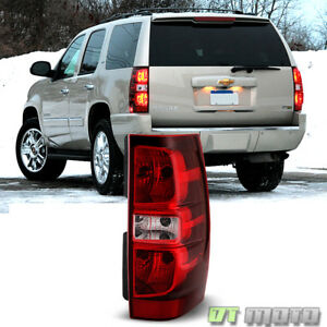 Fits 2007 2014 Chevy Suburban Tahoe Tail Lights Taillamps Passenger Right Side