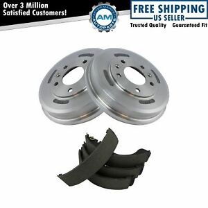Rear Brake Drum Shoe Kit For Ford Escape Mazda Tribute Mercury Mariner New