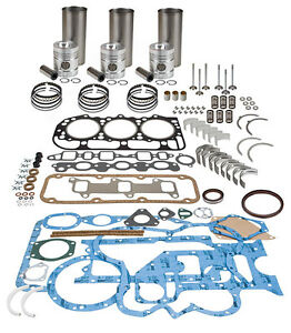 Zetor Z5201 Major Engine Overhaul Kit 3320 3340 5211 5245