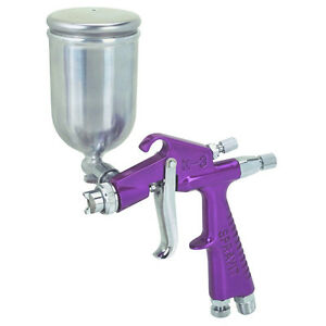 New Hot Mini Detail Touch Up Spray Gun 4 Oz Tip Basecoat Auto Paint