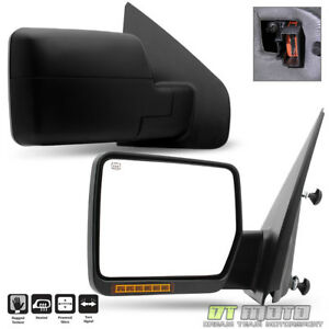 Left right 2004 2006 Ford F150 Pickup Truck Power heated turn Signal View Mirror