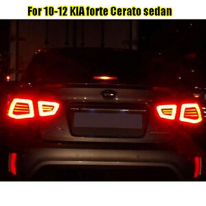 Kspeed Fits Kia 2010 2011 2012 Forte Sedan Cerato Led Tail Light Lamp 4p Parts