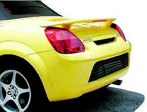 Fits Toyota Mr2 Spyder Custom Painted With Light Rear Spoiler Wing 2000 2006
