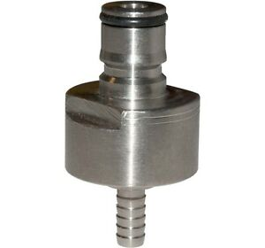 Kegco Carbonation Cap Stainless Steel