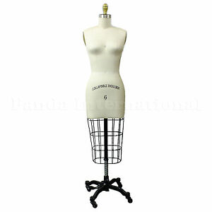 Professional Sewing Dress Form Size 6 Dressform Manequin High Quality