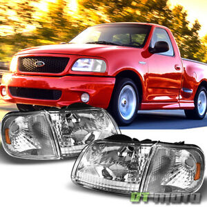 1997 2003 Ford F 150 F150 Expedition Headlights Corner Lights Signal Lamps 97 03