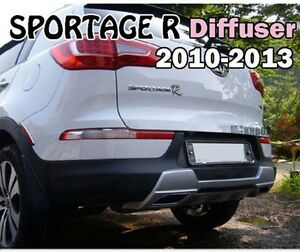 Fits Kia 2010 2013 Sportage R Rear Diffuser Made In Korea