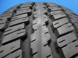 One Used Continental Contitrac 235 70 16 Owl 10 11 32 Tread Repair Free 1443b