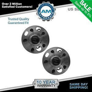 Rear Wheel Hubs Bearings W abs Pair For Buick Cadillac Chevy Olds Pontiac