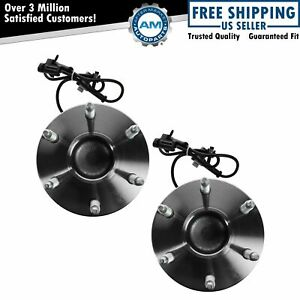 Front Wheel Bearing Hub Assembly Pair For Chevy Gmc Pickup Truck 2wd Van