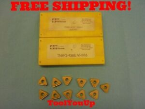 11 Pcs New Agi Vr wesson Tnmg 438 E Vr663 Carbide Inserts Machine Shop Tools