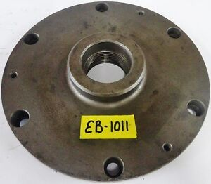 10 Lathe Chuck Adapter Plate 2 1 4 8 Spindle Thread 13 16 Thickness