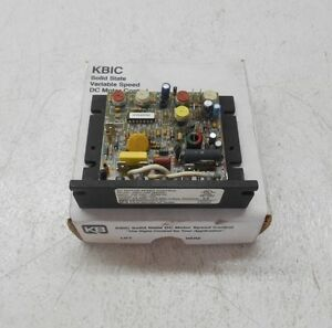 Kbic Solid State Variable Speed Kbic 240 Dc Motor Control 6 12 18 Amps New