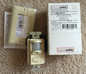 Sensorswitch Wsd 2p Iv Motion Detector Switch 120 277vac