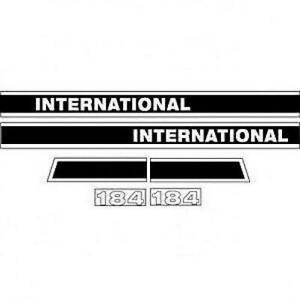 Made To Fit International Case Ih Tractor Model Cub 184 Decal Set