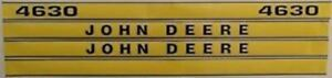 John Deere 4630 Hood Decal Set