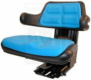 Ford Tractor Heavy Duty Full Suspension Seat Assembly Composite W Metal Frame