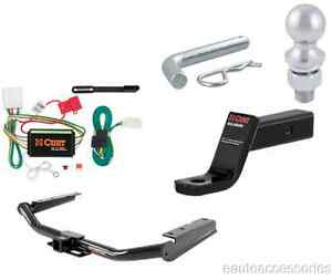 Curt Trailer Hitch Tow Package W 2 Ball Class 3 Fits Toyota Highlander