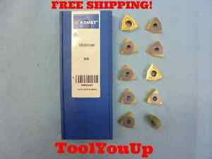 10 Pcs New Komet W29 50010 0484 Bk84 Carbide Inserts 05550053 Machine Shop Tools