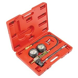Cylinder Leak Detector Leakage Leakdown Engine Compression Gauges Tester Tu 21