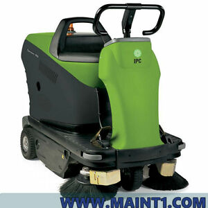 Ipc Eagle 1050 Ride On Floor Sweeper Free Shipping Brand New