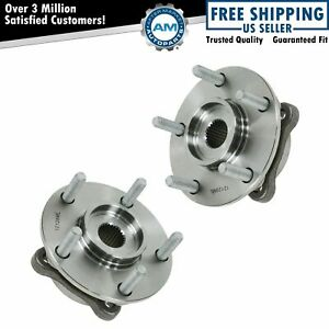 Front Wheel Hub Bearing Pair Assembly Set For 3000gt Lancer Evo W Awd