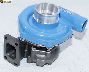 Blue Emusat3 t4 Hybrid Turbo Charger 50 A r Compressor 0 63 A r Turbine Wheel