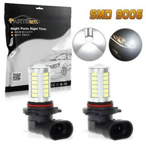 2x9006 Hb4 High Power Fog Driving Light 6000k White 33 5730 Smd Led Bulbs Lamp