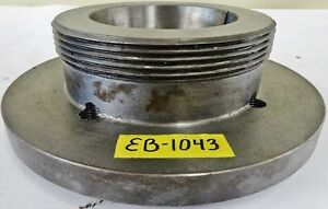 11 1 2 Lathe Chuck Adapter Plate L2 Spindle Mount 1 Thickness