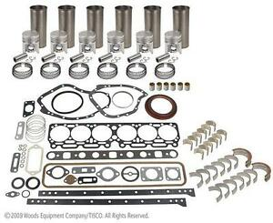 John Deere 6 531a Major Engine Overhaul Kit 5400 6030 7520