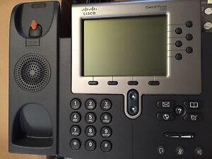 Cisco Unified Ip Phone Cp 7960 Voip New In Box