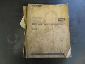 Caterpillar 933c 933c Lgp Hystat Track Loader Parts Manual 4ms 5js