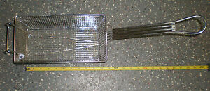 Stainless Steel Fry Basket 11 x5 75 x4 5003894