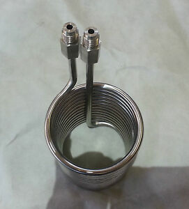 Stainless Coil Hot Water Or Multi use 3 8 Npt Male Ends 5004501