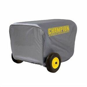Champion Large Portable Power Generator Storage Weather Cover Outdoor Equipment