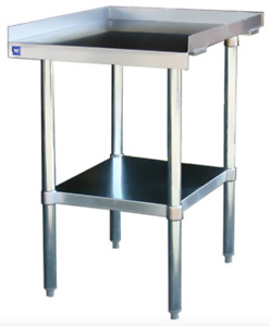 New 12 X 30 Equipment Stand Stainless Steel Base Nsf 6961 Griddle