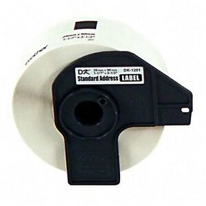 4 Of Dk1201 Brother P touch Paper Address Labels 1 1 7i