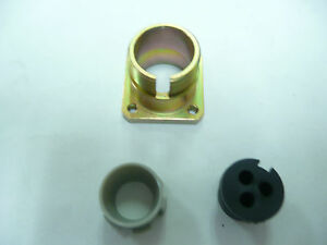 Souriau 19101503 3pin Flange panel Mount Connector New