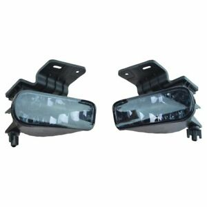 Performance Smoked Lens Fog Light Pair Set Of 2 For Silverado Suburban Tahoe New