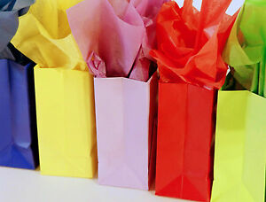 20 x30 Solid Color Tissue Paper 480 pk Gift Wrap Decoration Party Supplies