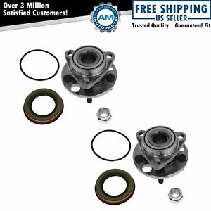 Front Wheel Bearing Hub Set Of 2 Pair New For Chevy Buick Cadillac Olds