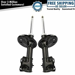 Struts Front Left Lh Right Rh Pair Set Of 2 For 02 07 Mitsubishi Lancer