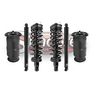2005 2009 Saab 9 7x Air Suspension Rear Shocks With Springs Front Struts