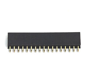 200pc Pin Female Header Pitch 2 54x2 54mm H 8 5mm Straight Type 2x17p 2x17 34p