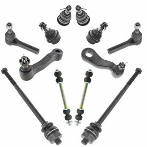 12 Piece Front Ball Joint Tie Rod Suspension Kit For Chevy Gmc Truck Yukon New